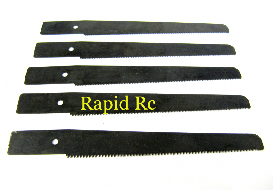 Hobby Mini Razor Saw Blades (Long, 5pcs)